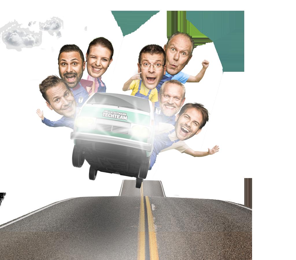 Vraťte Vaše zákazníky rychle zpátky na silnici.