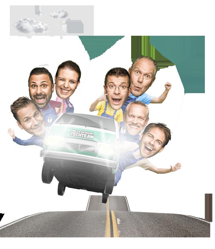 Vraťte Vaše zákazníky zpátky na silnici rychle.