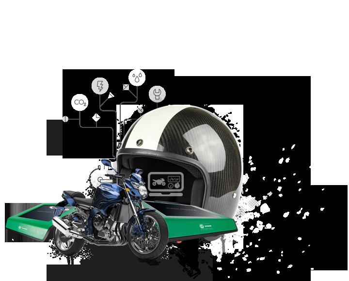 Zdatný pomocník pro jednostopá motorová vozidla